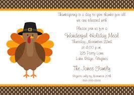 thanksgiving dinner invitation cloveranddot