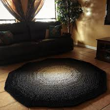 Round Burgundy Rug Burgundy Black Brown Shag Rug Ombre Google Search Surroundings