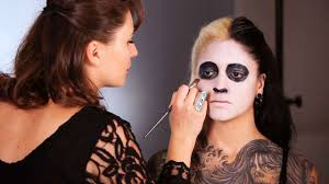 how to do a day of the dead makeup base howcast the best how