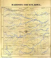 Bridges Of Madison County Map Fultons