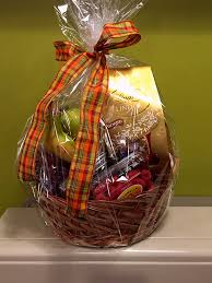 chagne gift basket gift baskets treats peck s flower shop