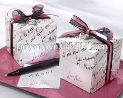 wedding favor boxes wholesale wholesale notes sticky notes in nostalgic dispenser gift box
