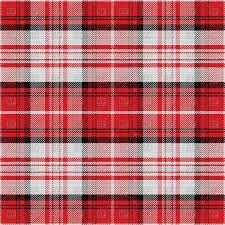 seamless red scottish tartan pattern vector clipart image 67471
