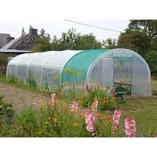 serre tunelle de jardin serre tunnel de jardin pied droit 2 portes jardin et saisons