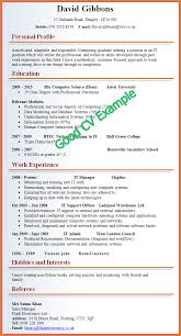 Sample Of A Good Resume by 10 Examples Of A Good Resume Resume Reference