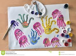 octopus kids drawing royalty free stock images image 34918219