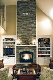 fireplace compact building stone fireplace for inspirations