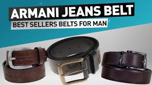 armani jeans belts best sellers for men great christmas gift for