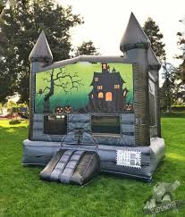 Halloween Inflatables Haunted House by Halloween Haunted Mansion Bounce House Rental California Bay Area