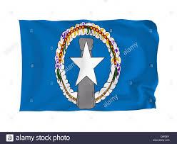 Saipan Flag Northern Mariana Islands Flag Stockfotos U0026 Northern Mariana