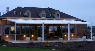 Outdoor Patio Awnings Waterproof Retractable Patio Cover Long Island M U0026 M Awning And Sign