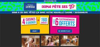 jeux cuisine fr 3615ixina fr jeu cuisines ixina fête ses 20 ans bestofconcours