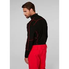 Flag Suit Helly Hansen Hh Lifa Merino 1 2 Zip Baselayer Men U0027s Black Flag