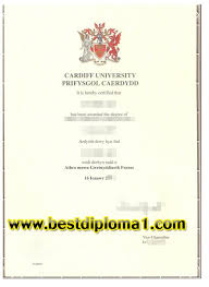 cardiff university prifysgol caerdydd certificate sample bu buy