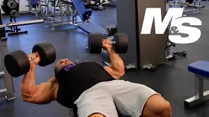 Chest Workout Dumbbells No Bench Jay Cutler U0027s Training Tips Maximum Contraction Dumbbell Bench