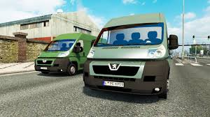 peugeot van boxer peugeot boxer for traffic for euro truck simulator 2