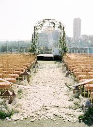 wedding arch nyc wedding ceremony backdrop style greenery rooftop wedding and