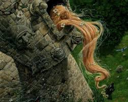 rapunzel long hair tower original new movie art guys long hair