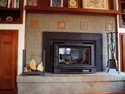 wood tile fireplace surround round designs