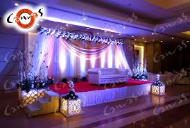 canvas decoration services for banquets resorts palaces open