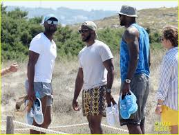 dwyane wade lebron james u0026 chris paul go on vacation in ibiza