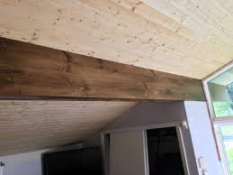 Pine Ceiling Boards by Face Beam With Pine Dave Eddy