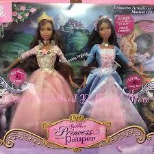 barbie erika anneliese princess pauper doll sings