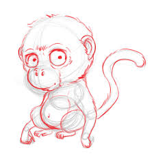 3 ways to draw a monkey wikihow