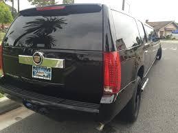cadillac escalade 2017 grey cadillac escalade 165 inch stretch suv limousine 1882