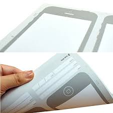 amazon com olizee creative iphone 6 sketch pad stencil kit for