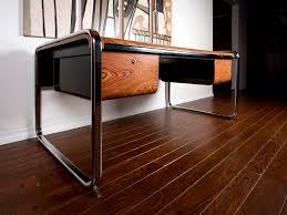 Zebra Laminate Flooring Zebra Wood Desk By Peter Protzman For Herman Miller Herman