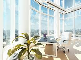 architecte d int ieur bureaux pièce moderne de bureau intérieur d architecture illustration