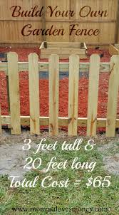 fence easy garden fence exceptional easy fence for small