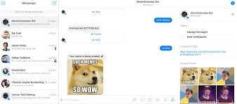 Text Meme Generator - memegenerator bot home facebook