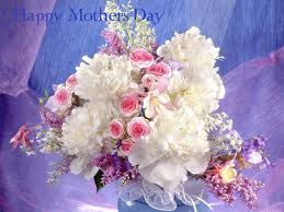 awesome happy mothers day red white flowers images pictures