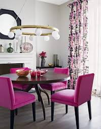 Fun Dining Room Chairs Amazing Dining Room With Velvet Purple Dining Chairs And Round