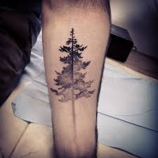 collection of 25 water waves with tree tattoos on ribs