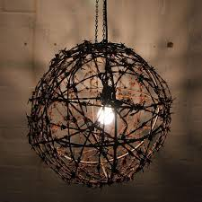 barbed wire light fitting mulbury