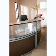 Oval Reception Desk Plexi Reception Desks Marketlab Inc