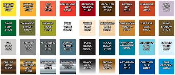 dream pod 9 heavy gear blitz master series paint set