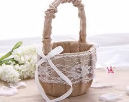 wedding baskets wedding basket etsy