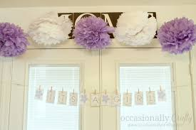 baby shower purple and green occasionally crafty baby shower