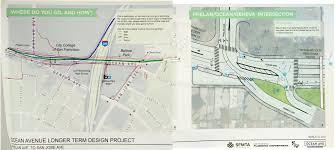 San Francisco Property Information Map by Ocean Avenue Corridor Design Planning Department