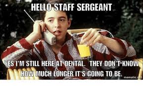 First Sergeant Meme - 25 best memes about staff sergeant staff sergeant memes