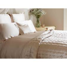 gingerlily plain silk bed linen set buy online at luxdeco