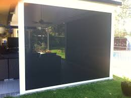 External Awnings Brisbane Rainbow Side Channel System Outdoor Blinds Brisbane Rainbow Blinds