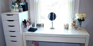 Makeup Organizer Desk Bathroom Makeup Organizer Openpoll Me