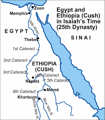 Blank Map Of Ancient Egypt by Maps Covering The Periods Of Isaiah U0027s Prophecies