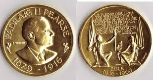 fiftieth anniversary 1916 rising fiftieth anniversary medal 1966 by paul vincze 1907