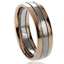 titanium wedding band reviews top product reviews for men s two tone titanium wedding band